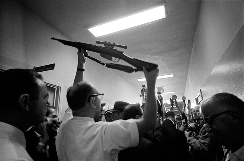 Lee Harvey Oswald's Gun, Dallas Police Station, 1963