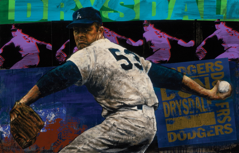 Don Drysdale - Los Angeles Dodgers, 2008