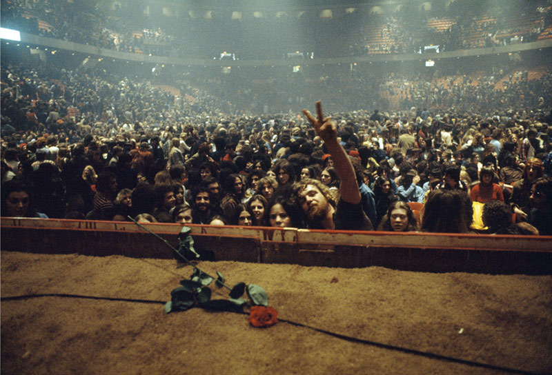 Neil Young's Audience at The Spectrum, Philadelphia, 1973