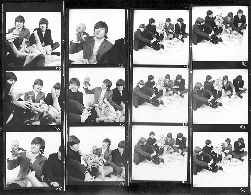 The Beatles, Dolls Contact Sheet, London, 1966