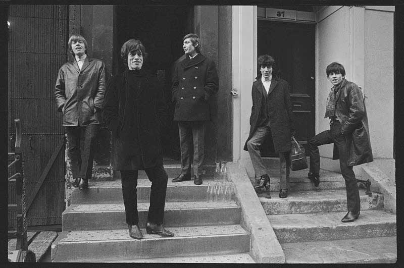 The Rolling Stones on Steps, Soho London, 1964