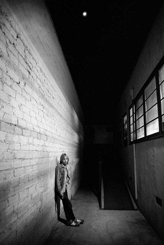 Tom Petty Behind Cherokee Studios, Hollywood, 1979