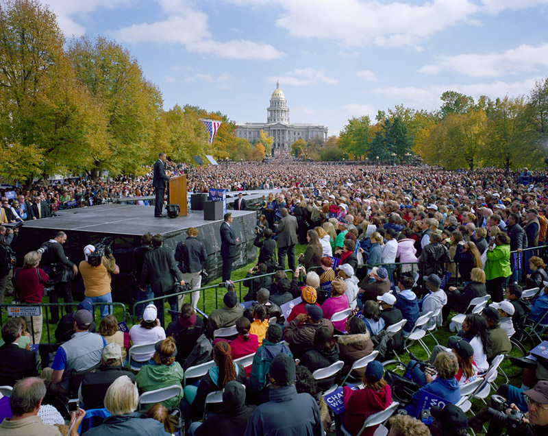 Barack Obama, Civic Center Park, Denver, CO, 2008