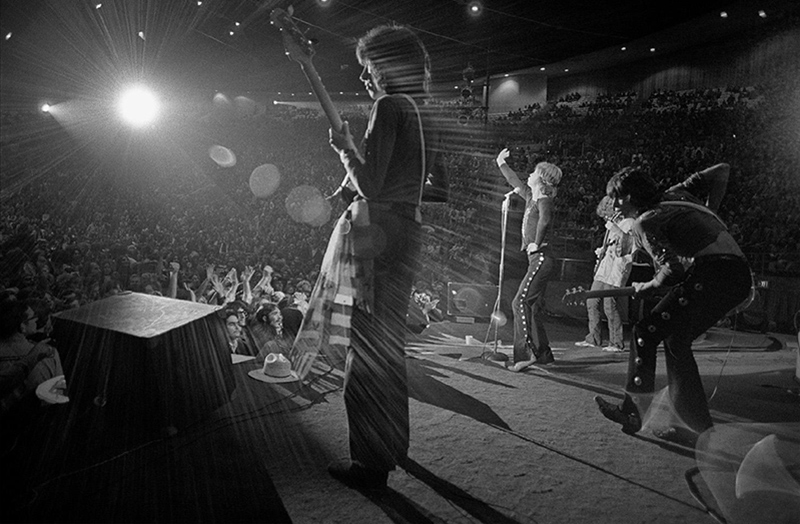 The Rolling Stones Onstage at Madison Square Garden, 1969 (Keith Pump)