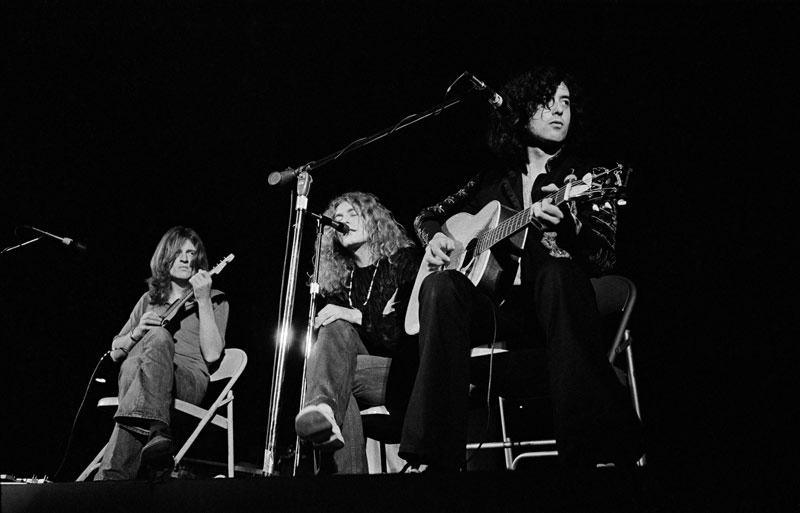 Led Zeppelin, Acoustic Set, LA, 1971