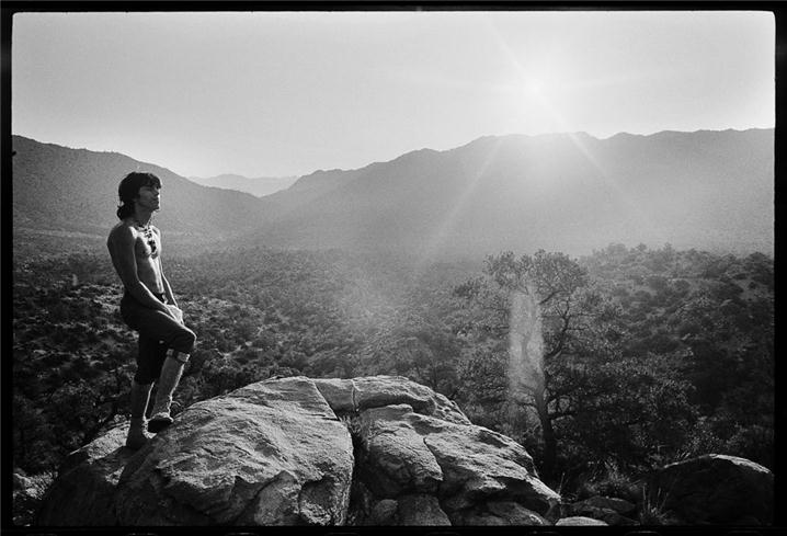 Keith Richards, Geronimo Sunrise, Joshua Tree National Park, CA, 1968