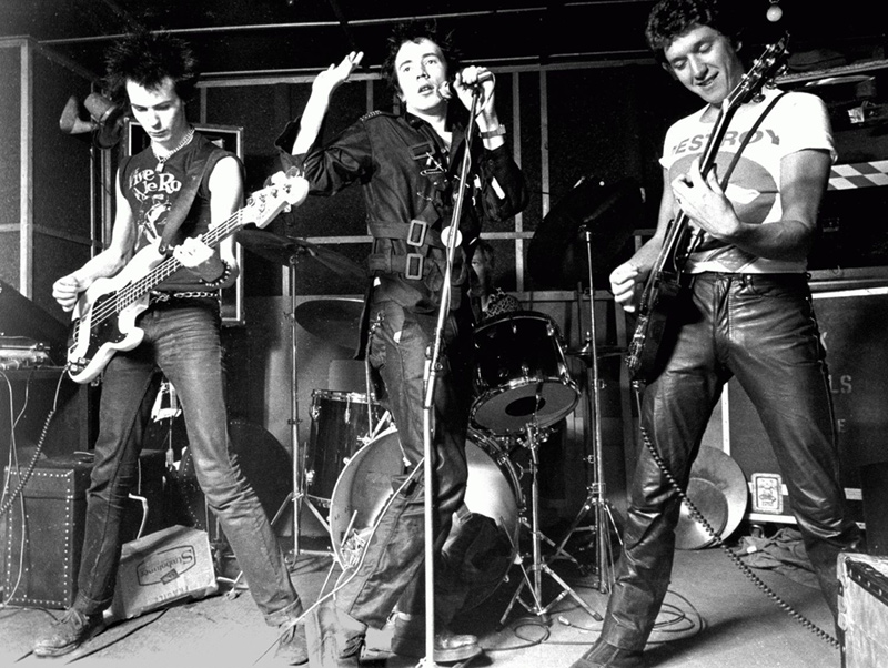 The Sex Pistols Rehearsing, London, 1977
