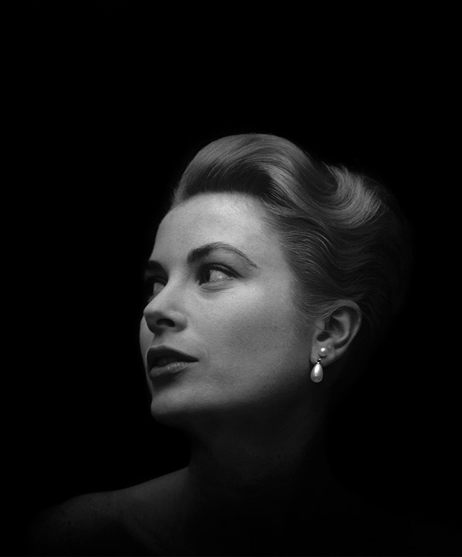 Grace Kelly, Beverly Hills, CA, December, 1955