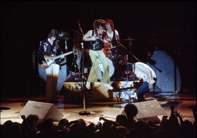 The Rolling Stones, Onstage 1972