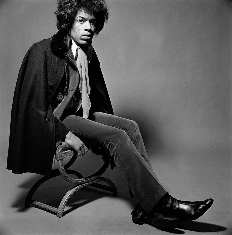 Jimi Hendrix, Boots, Mason's Yard, London, February, 1967