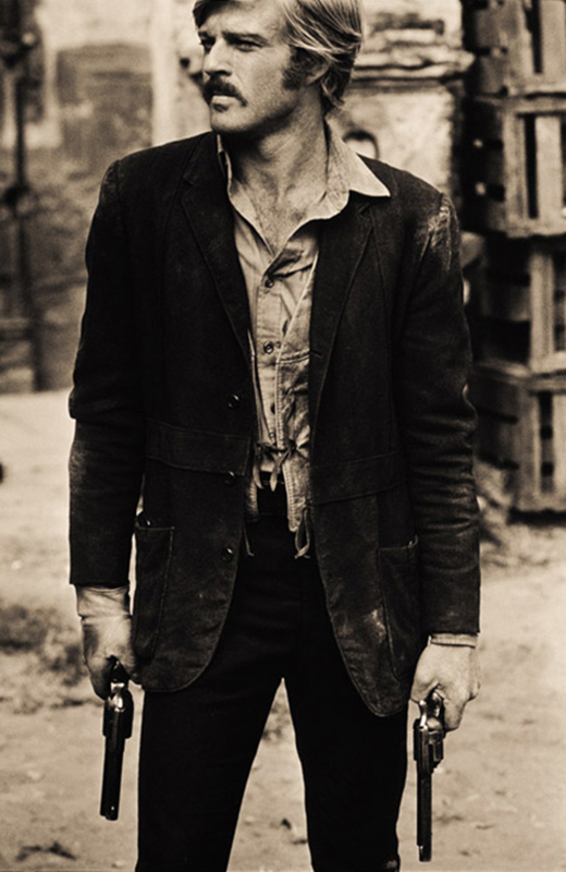 Robert Redford as The Sundance Kid, Mexico, 1968 - Guns