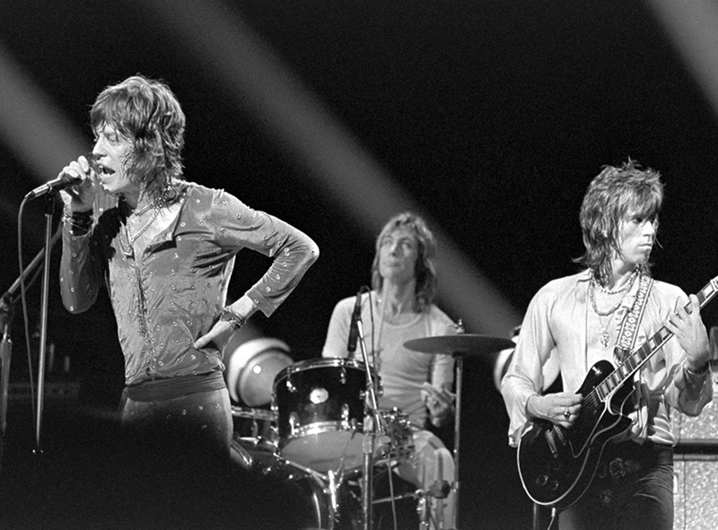 The Rolling Stones Onstage, Boston Garden, 1972