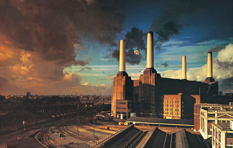 Pink Floyd, Animals Album Cover, 1977