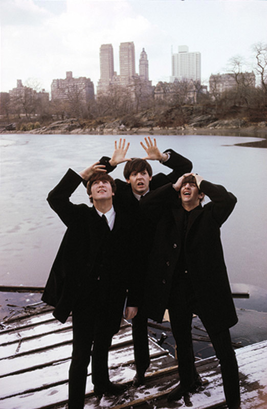 The Beatles in Central Park, NY, 1964 (Color)