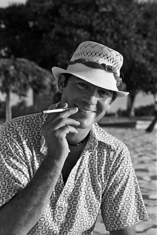 Hunter S. Thompson, Cozumel, Mexico, 1974