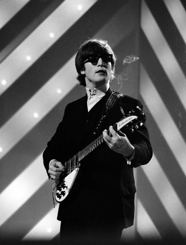 John Lennon Performing on Thank Your Lucky Stars, London, 1964