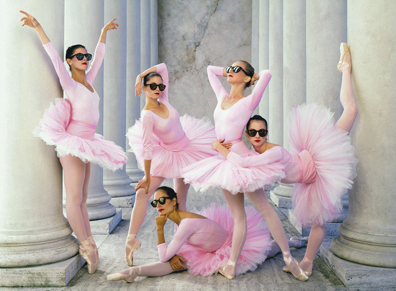 Ballerinas, San Francisco, 1990
