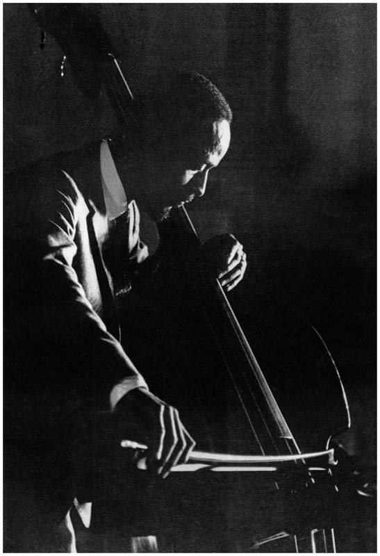 Percy Heath, NYC, 1960