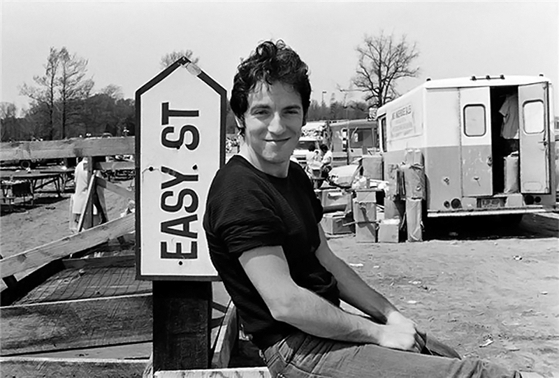 Bruce Springsteen, Easy Street Sign, 1978