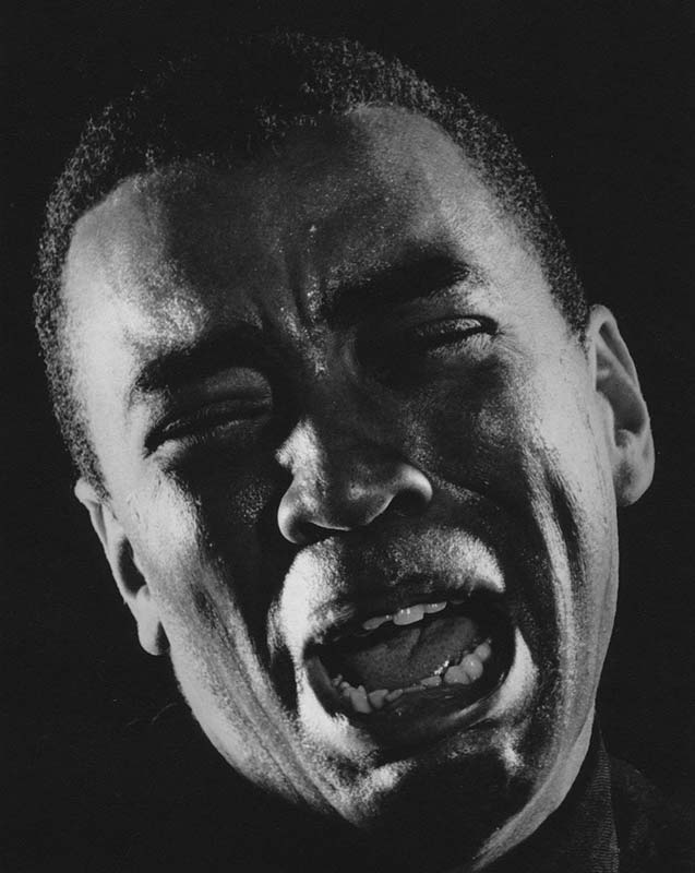 Oscar Brown, Hollywood, CA, September, 1961