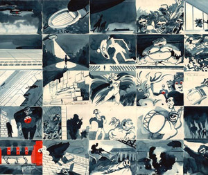 Gerald Scarfe Film Concept Designs & Storyboards