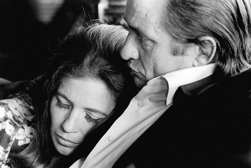 Johnny Cash and June Carter Cash, Hendersonville, 1969