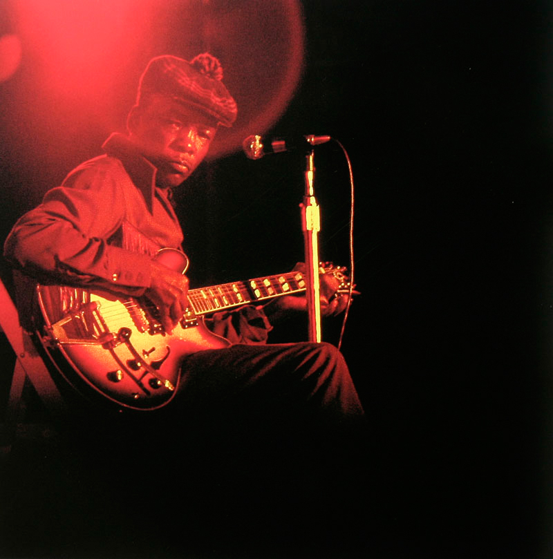 John Lee Hooker, Mad Man Blues Album Cover Outtake, 1981