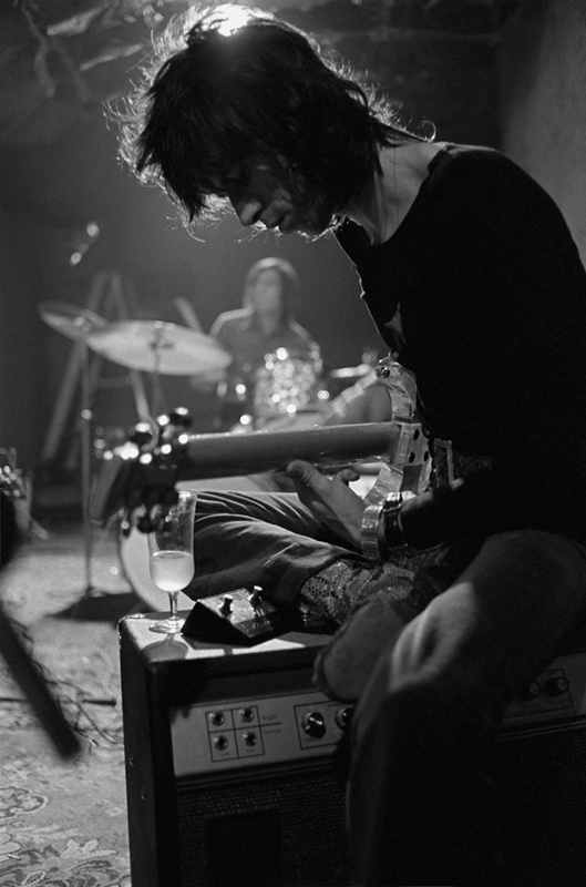 Keith Richards In Rehearsal, Los Angeles, 1969