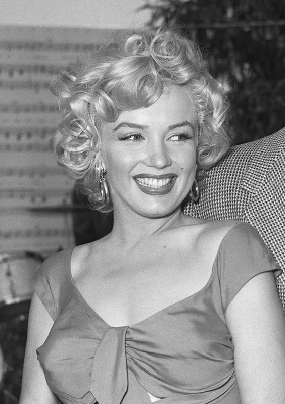 Marilyn Monroe, Niagara Party, Hollywood, 1952