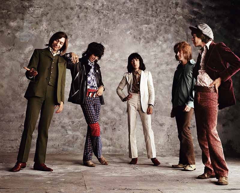 The Rolling Stones, Sticky Fingers - Random Stones, London, 1971