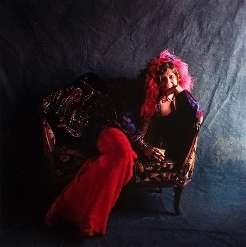 Janis Joplin, Pearl Album Cover Outtake, Hollywood, 1971