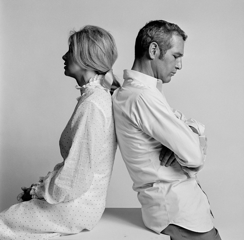 Paul Newman and Joanna Woodward, Los Angeles, 1967