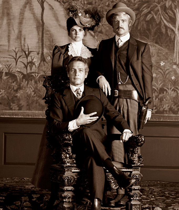 Butch Cassidy, The Sundance Kid, and Etta Place, 1968 (#3)