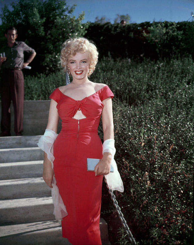 Marilyn Monroe, Niagara Party (Color), Hollywood, 1952