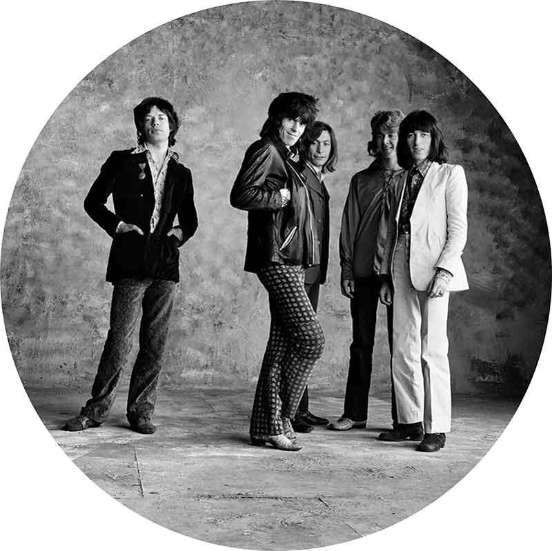 The Rolling Stones, Sticky Fingers - Separate Stone, London, 1971