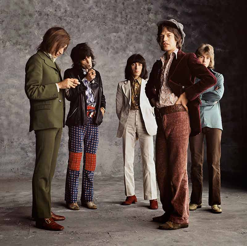 The Rolling Stones, Sticky Fingers - Smoking Stones, London, 1971