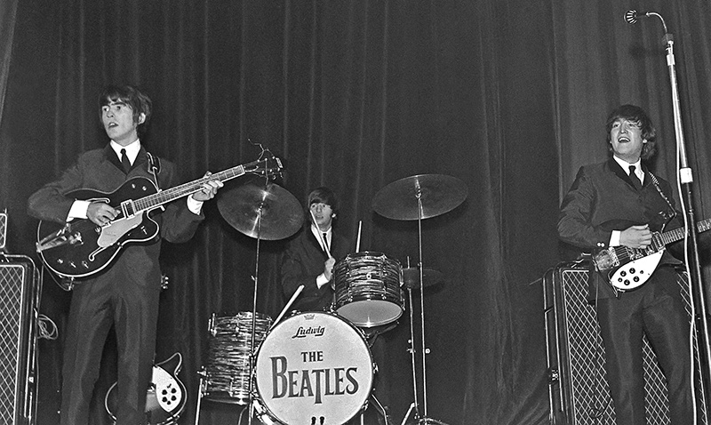 The Beatles, Drop T Center Stage, ABC, Huddersfield, 1963