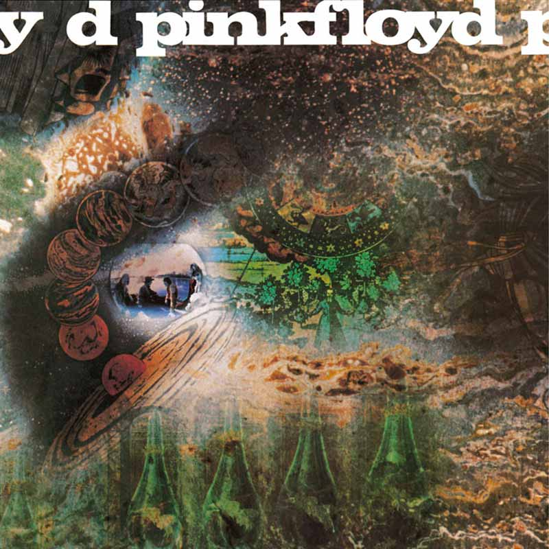 Pink Floyd, A Saucerful of Secrets Album Cover, 1968