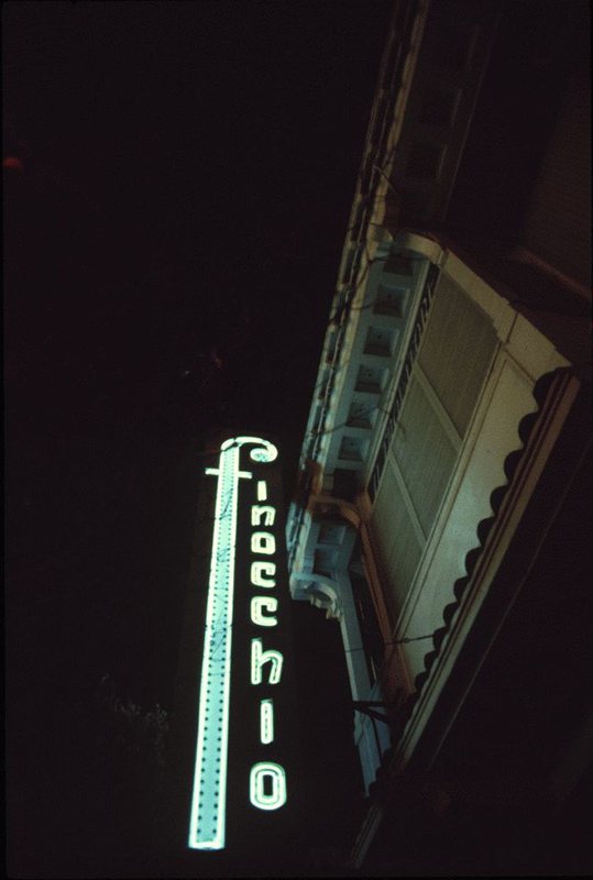San Francisco Neon Series, Finocchio Club, 1980