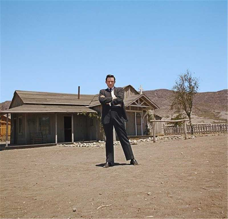 Johnny Cash, Melody Ranch, Newhall, CA, June 2, 1961