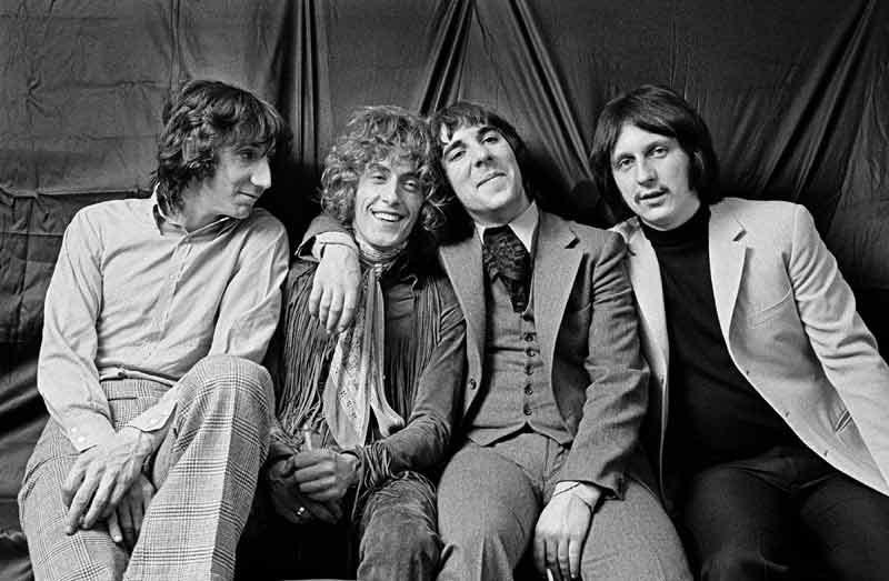 The Who Group Portrait, at the Melody Maker Readers Poll Award's, London, 1969