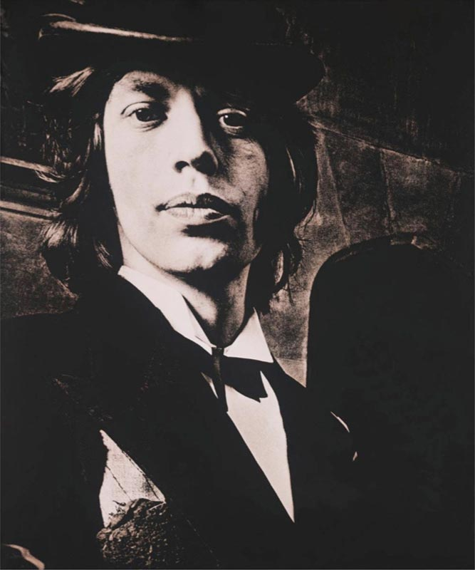 Portrait of Mick, Beggars Banquet Album Cover Shoot, London 1968