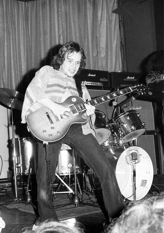 Free Performing at the Mayfair Ballroom, Newcastle, 1972