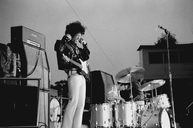 Jimi Hendrix, Ouch, Forest Hills Stadium, NY, 1967