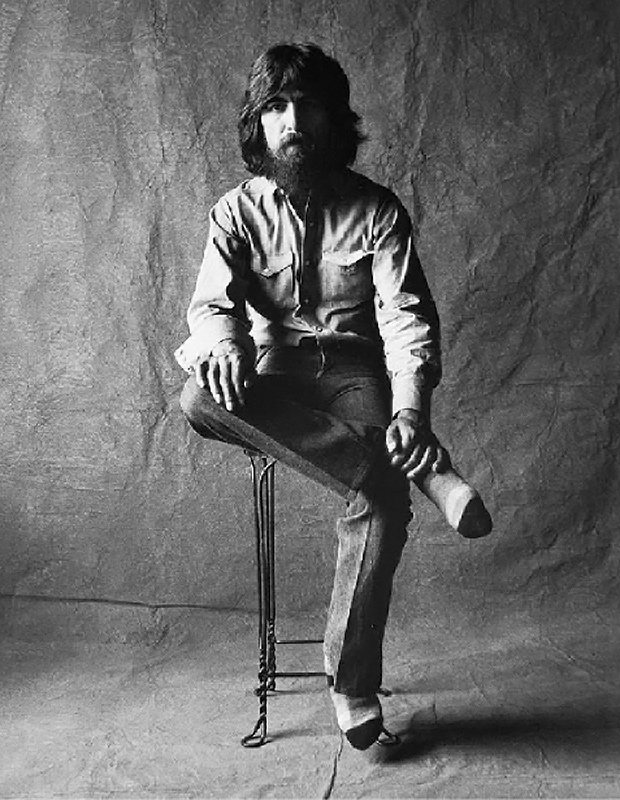George Harrison, Studio Portrait, Los Angeles, 1975