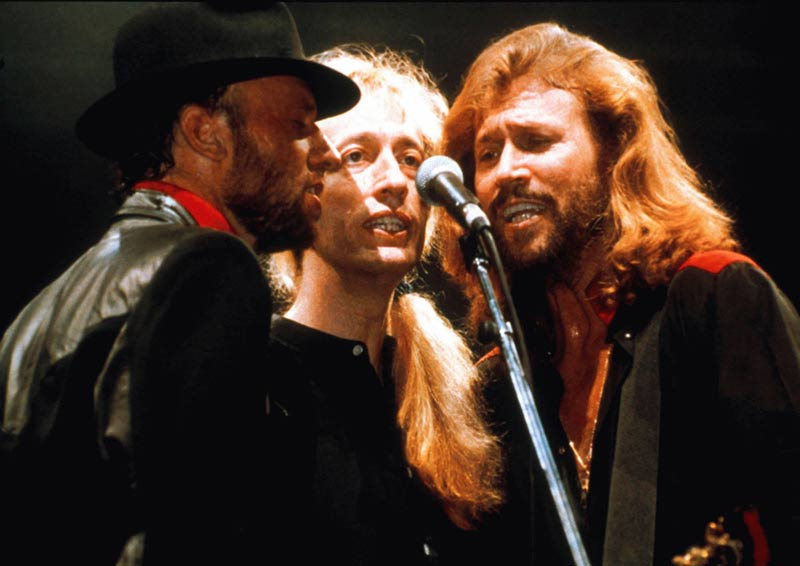 The Bee Gees (at the Mic), 1990