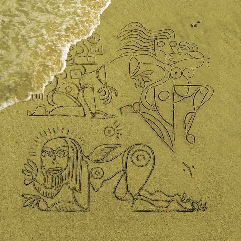 Disco Biscuits, Picasso in the Sand, Planet Anthem Back Cover, 2010