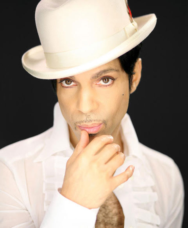 Prince Portrait in White Hat I Paisley Park, MN, 2009