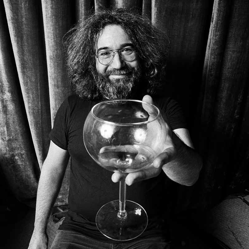 Jerry Garcia, Farewell to Winterland Cover, 1977 (Wineglass)