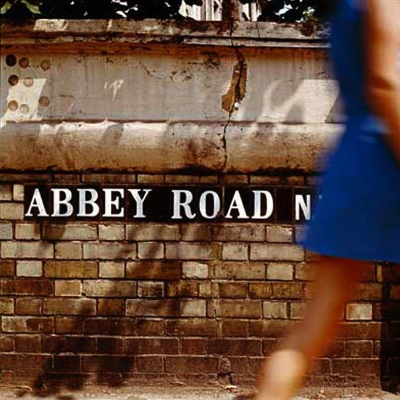 Abbey Road Album Back Cover, London, 1969